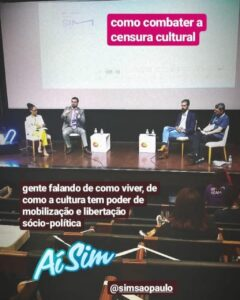 Palestra – SIM SP – Censura Cultural
