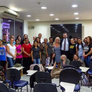 Palestra no Hospital Infantil Darcy Vargas – inclusão de pessoas com deficiência intelectual